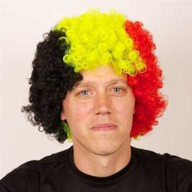 Belgie supporters pruik carnaval
