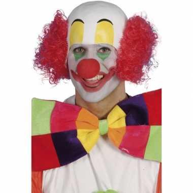 Clownspruiken Bassie carnaval