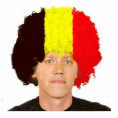 Duitsland afro pruik carnaval