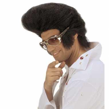 Elvis pruik vetkuif carnaval