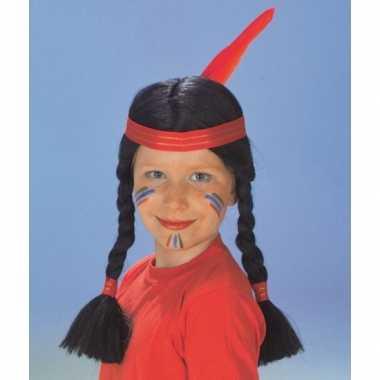 Indianenpruiken meiden carnaval