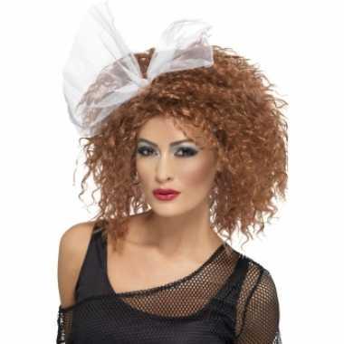 Jaren dames krullen pruik carnaval