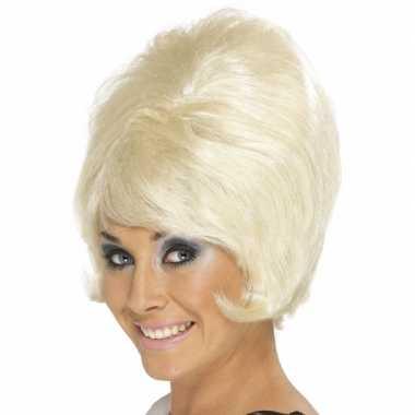 Jaren damespruiken blond carnaval