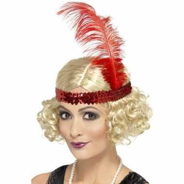 Jaren pruik blond dames carnaval