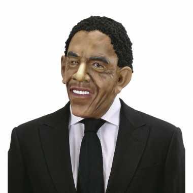 Masker pruik Barack Obama carnaval