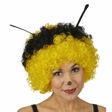 Party pruik bijen carnaval