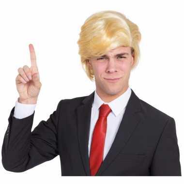 President trump pruik blond carnaval
