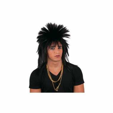 Punkerspruik zwart volwassenen carnaval