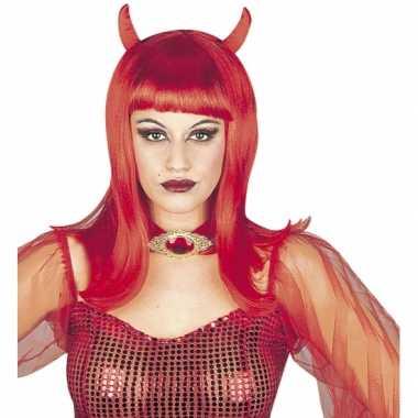 Rode Duivel damespruik carnaval