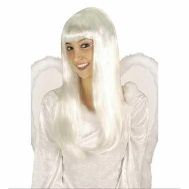 Witte engelen pruiken carnaval