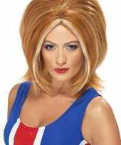 Ginger power pruik rood haar carnaval