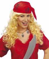 Piraten pruiken vrouwen carnaval