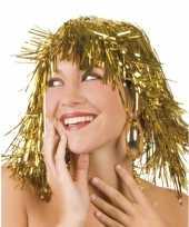Pruiken goud carnaval